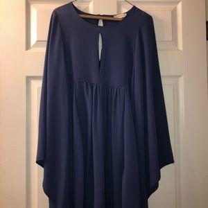 Altard state blue keyhole dress
